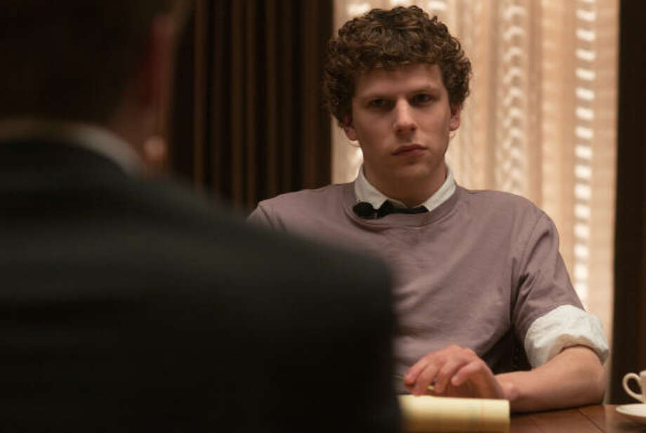 "Jesse Eisenberg portrayed Mark Zuckerberg in ""The Social Network."" Educators say Hollywood's take on the tech world is helping to increase the number of computer science majors. Photo: Columbia Pictures"
