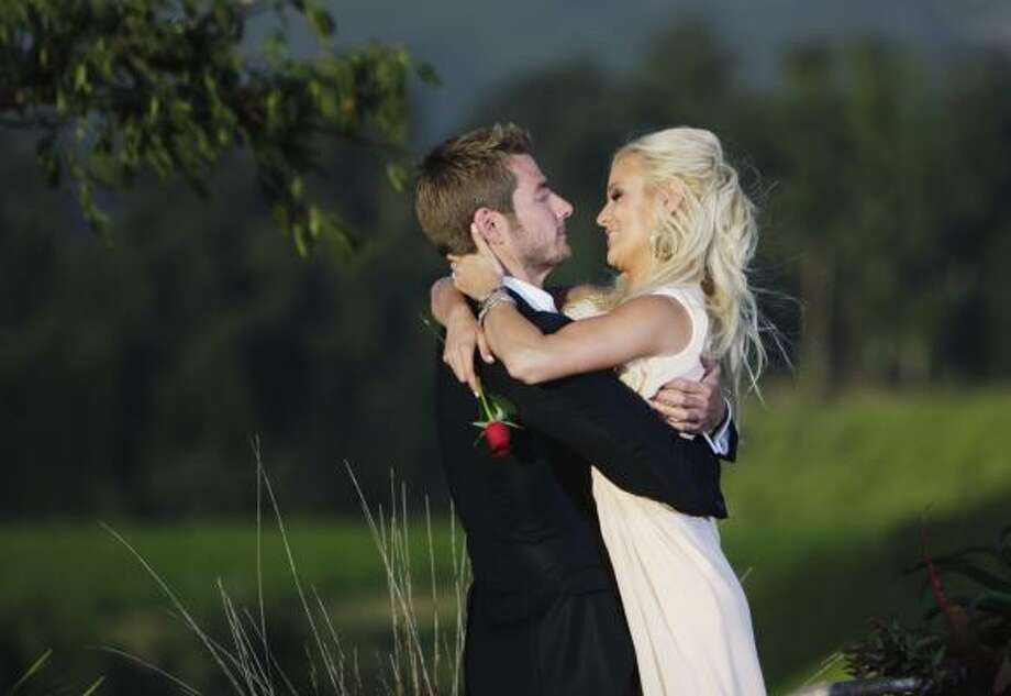Brad Womack proposed to Emily Maynard on the season finale of The Bachelor. Photo: Mark Wessels, ABC