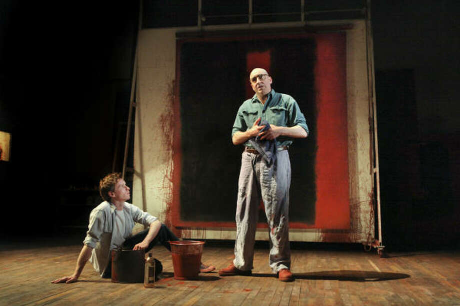 Red, a drama about abstract impressionist artist Mark Rothko, will be at the Alley in March. Photo: SARA KRULWICH, NYT