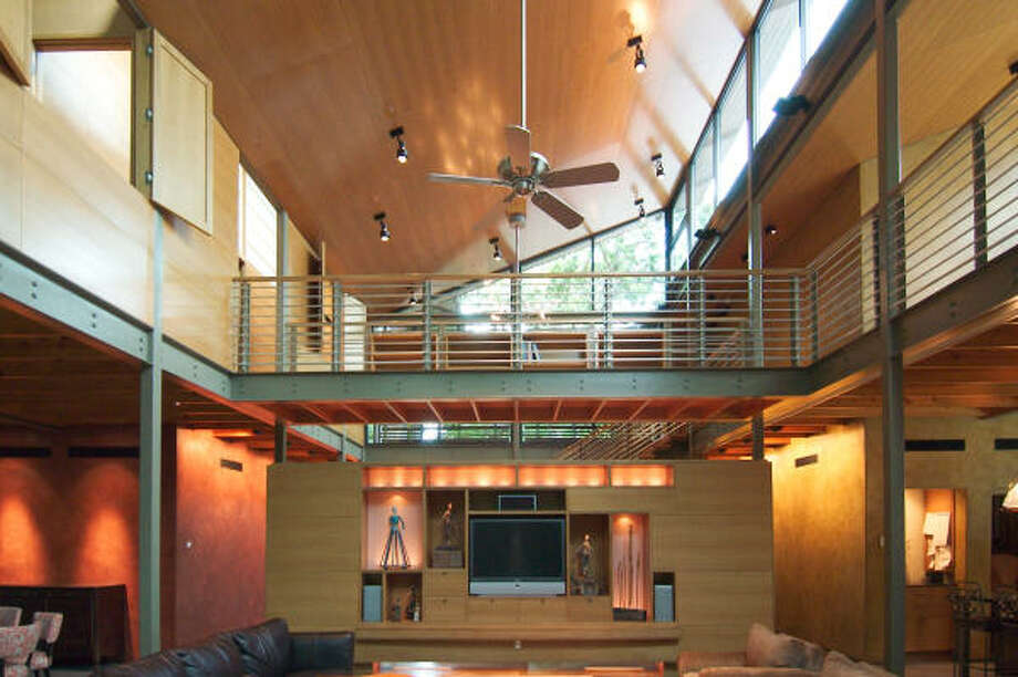 The Rice Design Alliance Home Tour features homes from out-of-town architects. Photo: Paul Hester