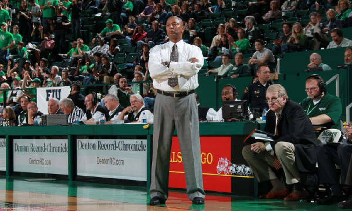 Coach Johnny Jones has been at the helm at North Texas since 2001 and says his team is as capable as any other of winning the NCAA Tournament.