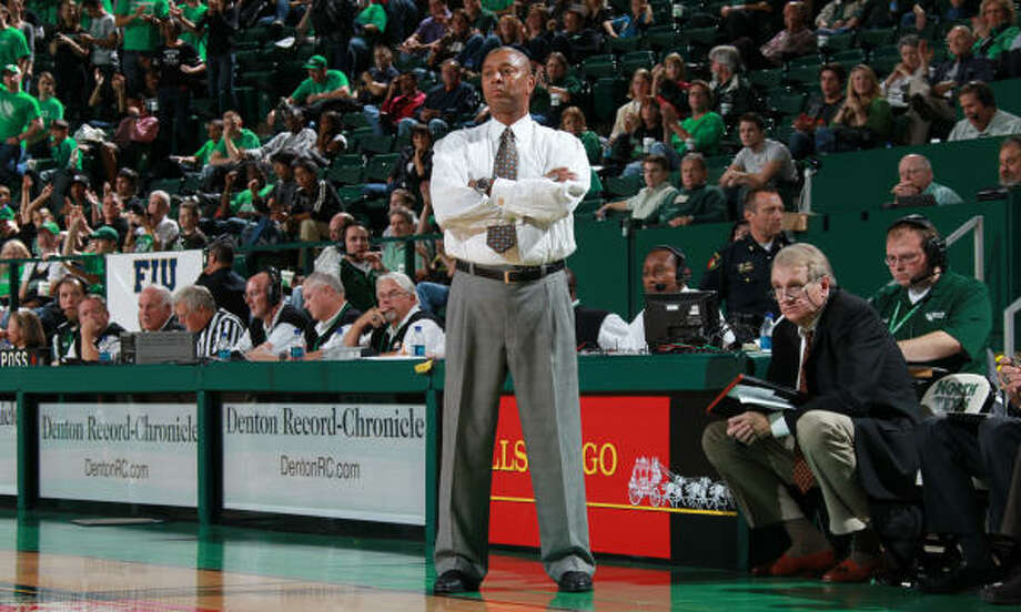 Coach Johnny Jones has been at the helm at North Texas since 2001 and says his team is as capable as any other of winning the NCAA Tournament. Photo: Rick Yeatts, University Of North Texas