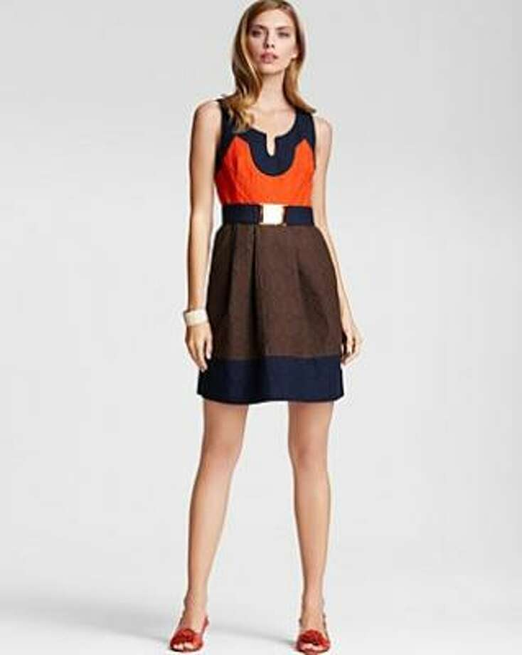 Get the look instantly with Milly's Imara dress. It's $395 at Saks Fifth Avenue. Photo: BLOOMINGDALE'S