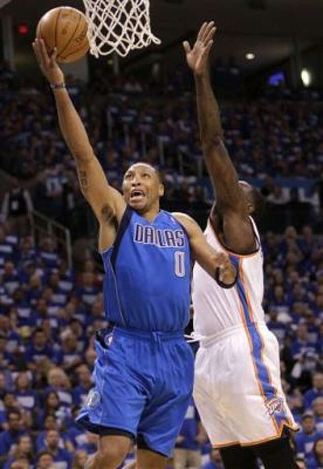 Dallas Mavericks forward Shawn Marion had 18 points in the victory. Photo: Eric Gay, AP