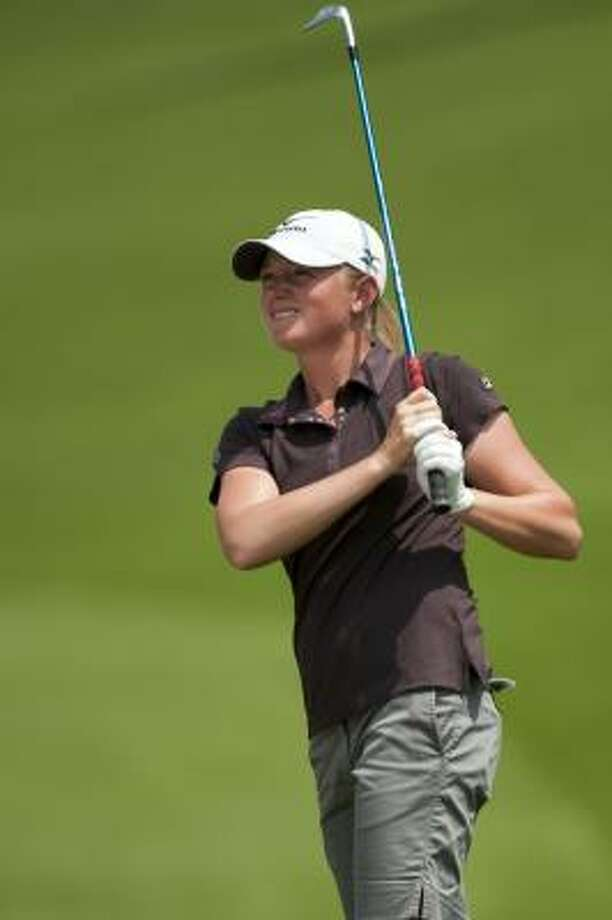 Stacy Lewis  was the NCAA champion in 2007 while playing for Arkansas. Photo: Victor Fraile, Getty Images