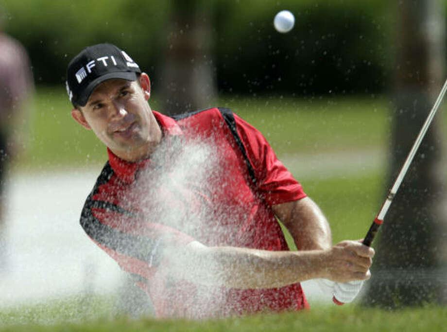 Padraig Harrington  won the 200 PGA Championship. Photo: J Pat Carter, AP