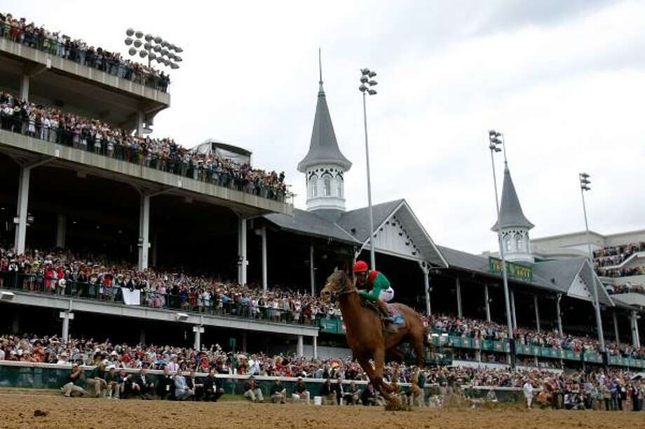 Animal Kingdom's Kentucky Derby romp spiked several heart rates at Sam Houston Race Park. Photo: Rob Carr, Getty Images
