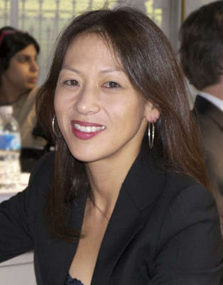 Author Amy Chua said she's surprised by the negative reaction her book has generated. Photo: Larry D. Moore :, AP