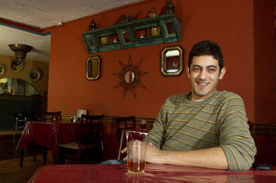 "Casablanca Couscous & Grill owner Outmane ""O.T."" Yanouri Photo: Brett Coomer :, Chronicle"