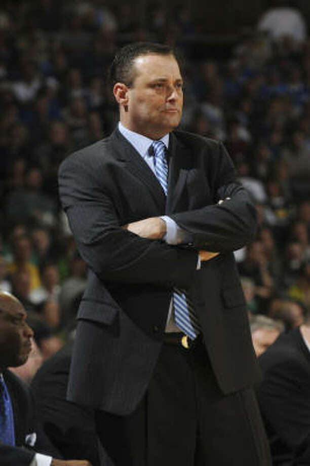 Billy Gillispie deserved another opportunity to be a college basketball head coach, columnist Jerome Solomon writes. Photo: Joe Raymond, AP