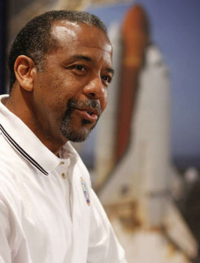 Dr. Bernard Harris was the first African-American to walk in space. Photo: Steve Ueckert, Chronicle File