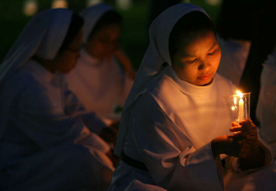 Since 1978, the Dominican Sisters of Mary Immaculate Province have taught children and tended to the sick and displaced. Photo: CHRONICLE FILE