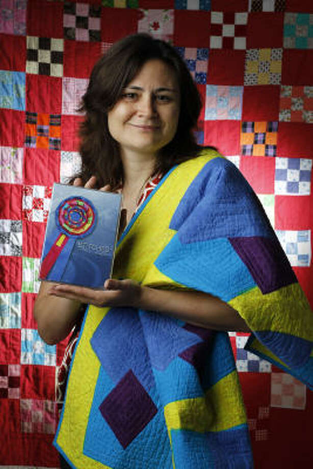 Jenalia Moreno, una periodista que también se convirtió en directora de cine para retratar el arte popular de las quilts. Photo: Karen Warren, Houston Chronicle