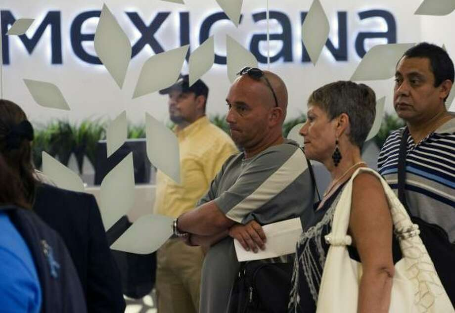 Passengers of Mexicana Airlines were disappointed last August when it declared bankruptcy and canceled all its flights. The airline plans to resume service soon. Photo: Alfredo Estrella:, AFP/Getty Images
