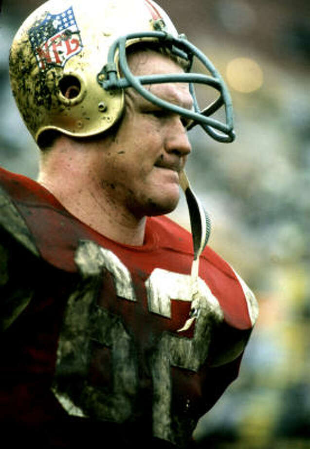 Former Falcons linebacker Tommy Nobis came out of San Antonio and the University of Texas. Photo: AP