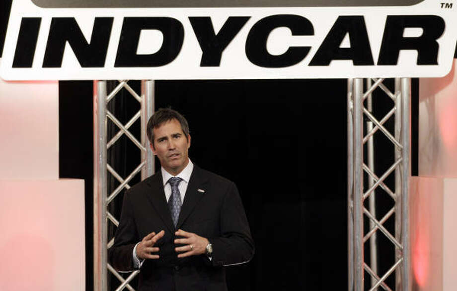 IndyCar CEO Randy Bernard will tour Reliant Park, the host of the last Grand Prix of Houston. Photo: Darron Cummings, AP