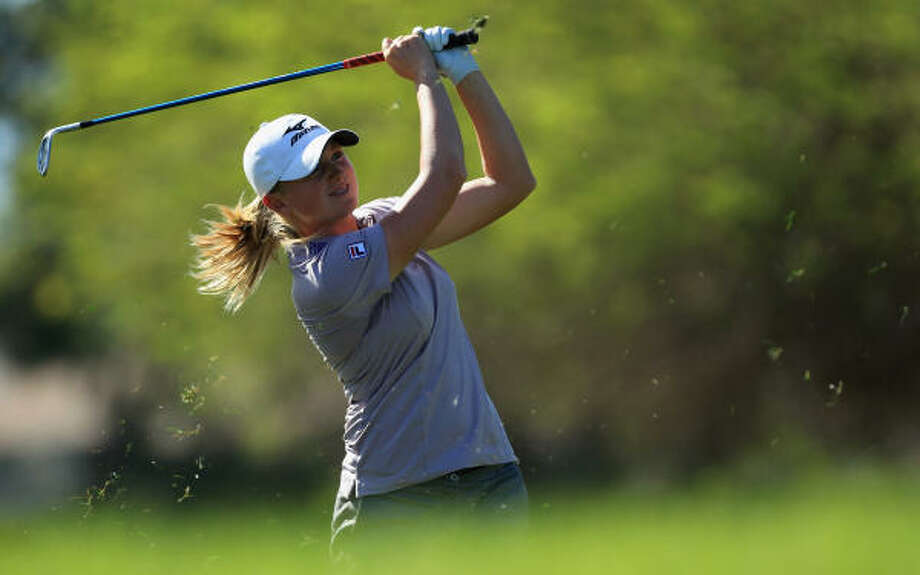 Stacy Lewis moved to 15th in the world Rolex Rankings. Photo: David Cannon, Getty Images