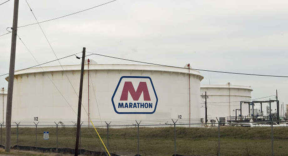 Marathon Oil Corp. has a refinery in Texas City.  Photo: James Nielsen:, Chronicle