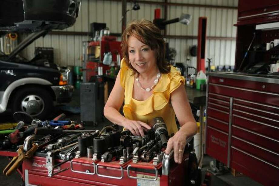 Lynn Beckwith is the owner of Beckwith's Car Care in Humble. Photo by Jerry Baker Photo: Jerry Baker, For The Chronicle