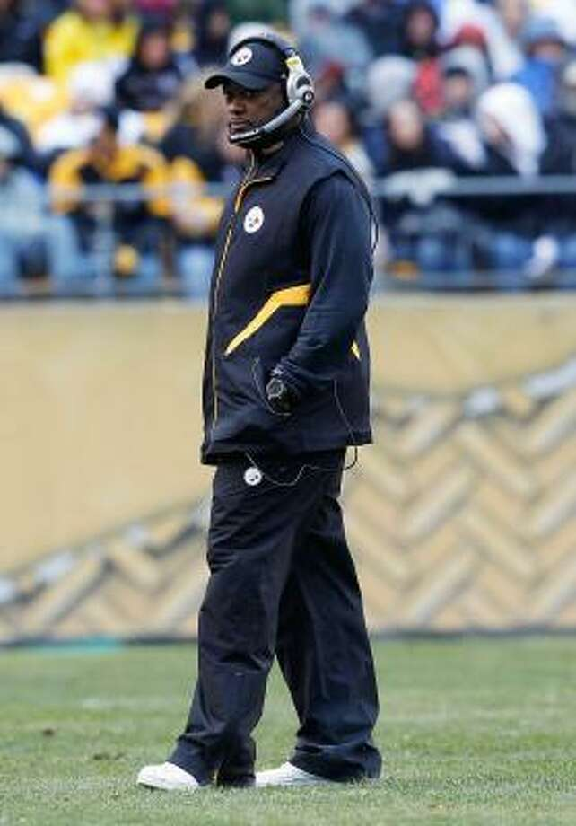 Steelers coach Mike Tomlin was Tony Dungy's protégé when they worked together for only one season with the Tampa Bay Buccaneers. Photo: Jared Wickerham, Getty Images