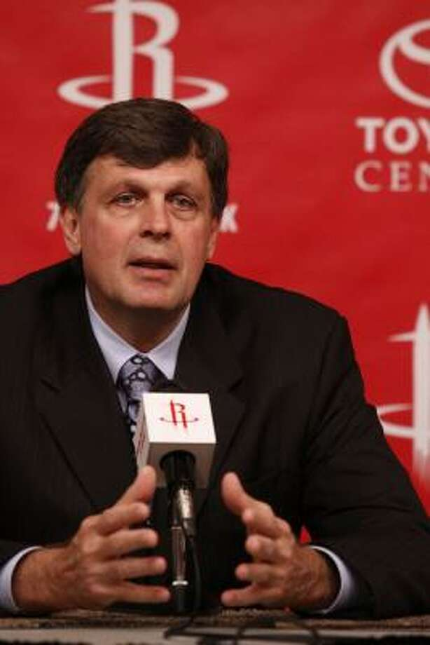 Rockets head coach Kevin McHale likes the lead assistant coaching model. Photo: Eric Kayne, For The Chronicle