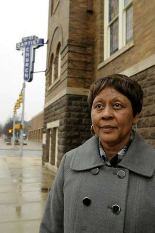 Carolyn McKinstry has written a new book about her childhood at Albama's historic Sixteenth Street Baptist Church, which was bombed by the KKK in 1963. Photo: Beverly Taylor, The Birmingham News.