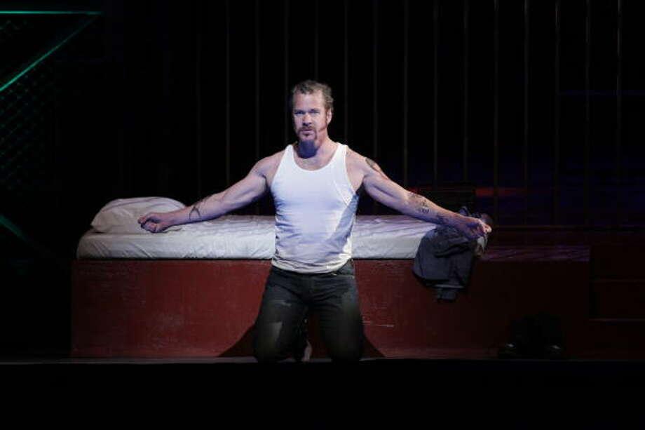 Philip Cutlip plays convicted murderer Joseph De Rocher in Dead Man Walking. Photo: Felix Sanchez