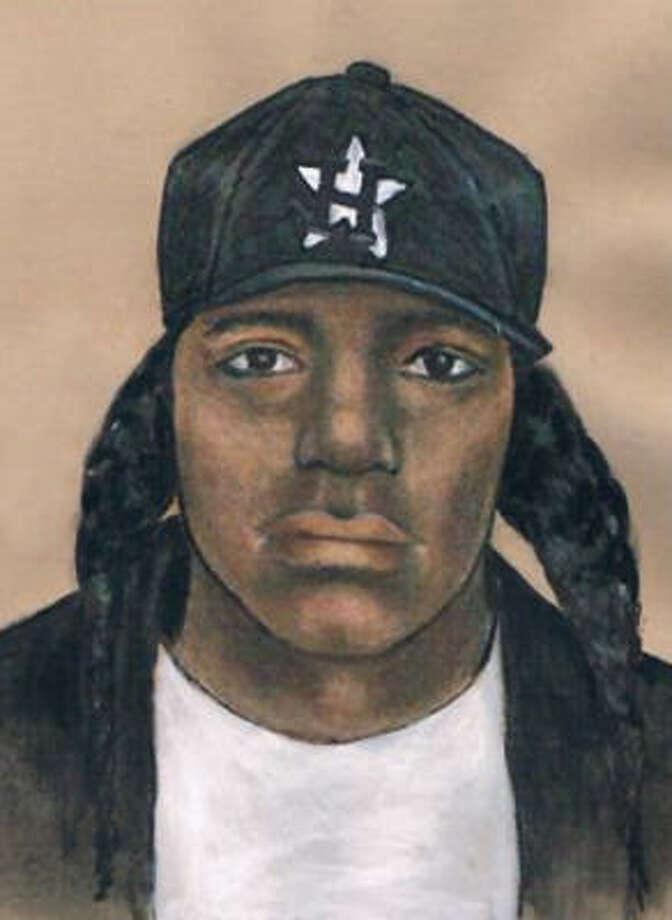 sketch of robber