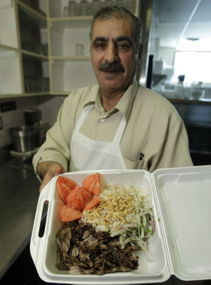 A menu item that features lamb, shawarma is a prized dish at this Middle Eastern restaurant in Dearborn, Mich. Lamb also is favored by people of Hispanic and African origin. Photo: Carlos Osorio, AP