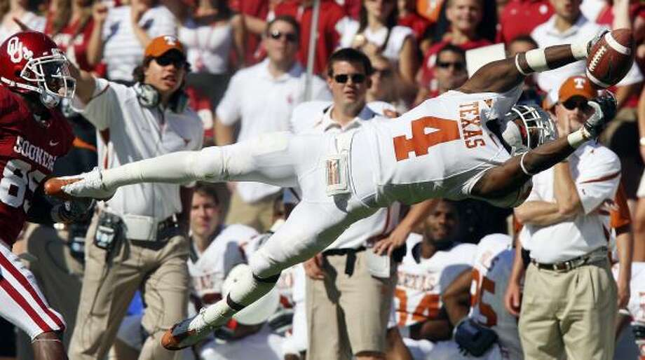 Texas defensive back Aaron Williams entered the draft as the Longhorns' top NFL prospect. Photo: EDWARD A. ORNELAS, San Antonio Express-News