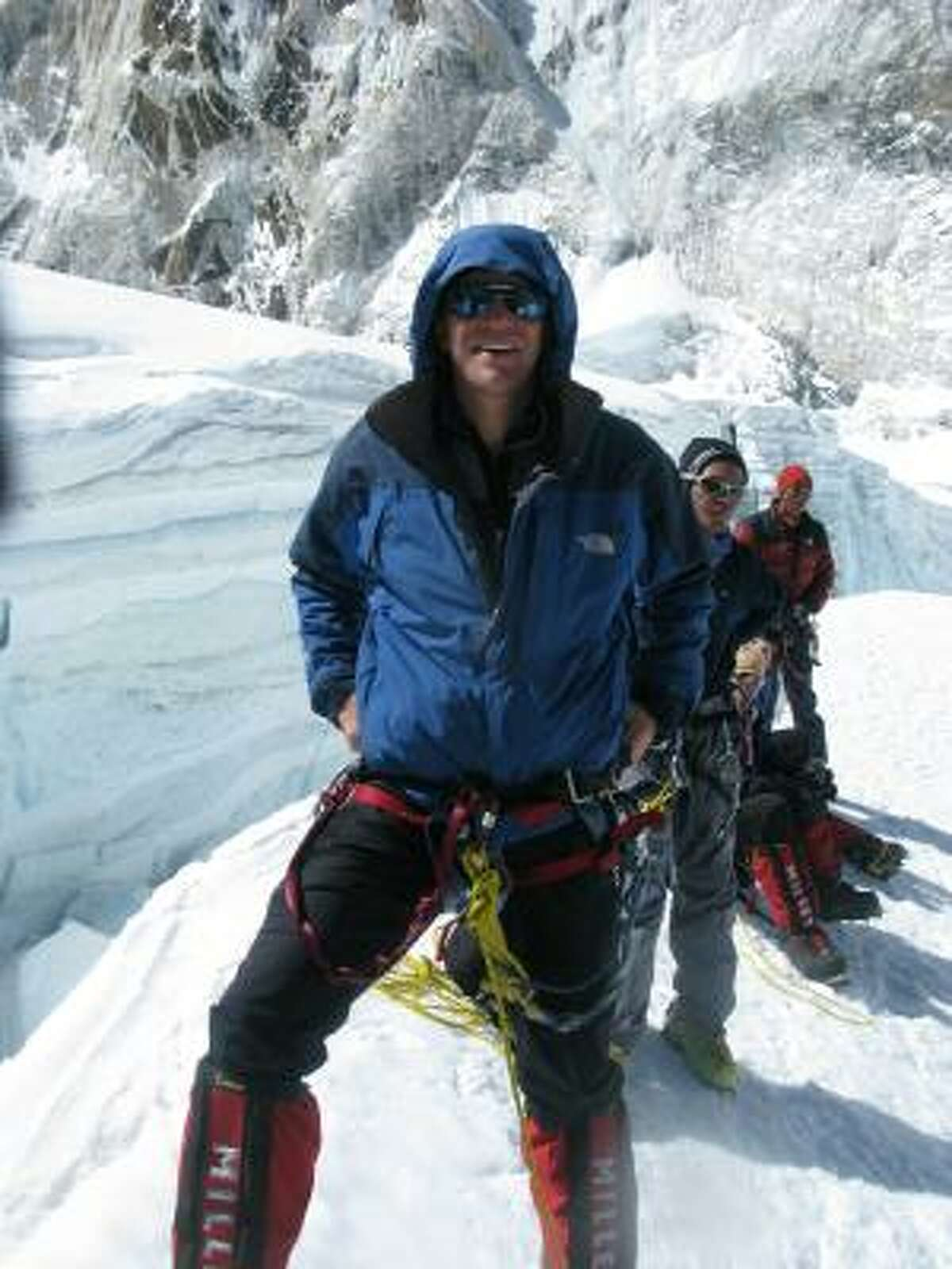 Parazynski left NASA in 2009 to climb Mount Everest in the Himalayas.