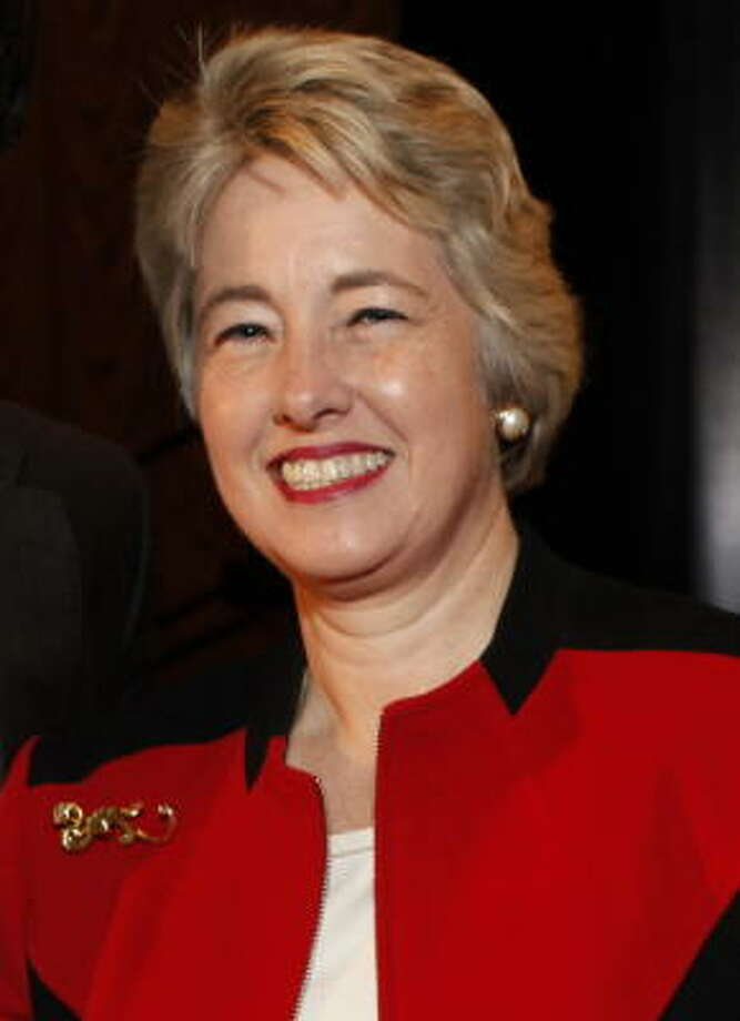 Mayor Annise Parker Photo: FILE PHOTO