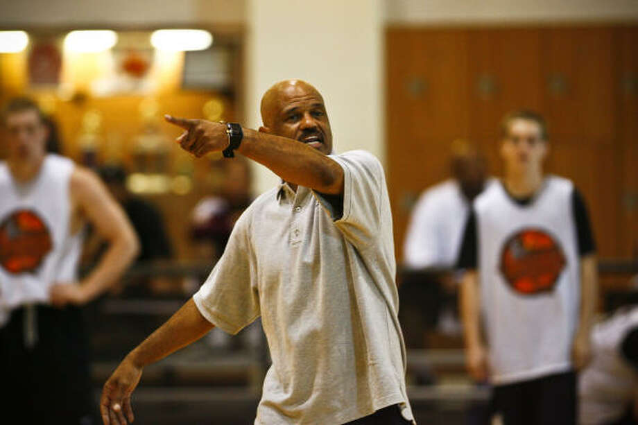 John Lucas played 14 NBA seasons, including three stints with the Rockets. Photo: Michael Paulsen, Chronicle