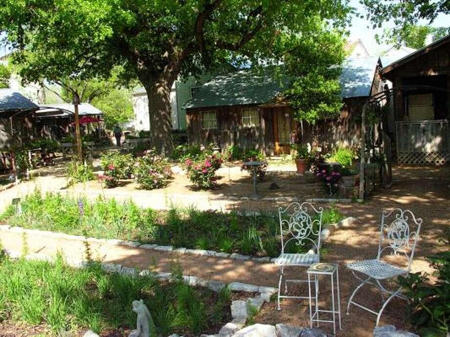 Fredericksburg Herb Farm features an all-natural spa and a garden-to-table restaurant. Photo: Fredericksburg Herb Farm