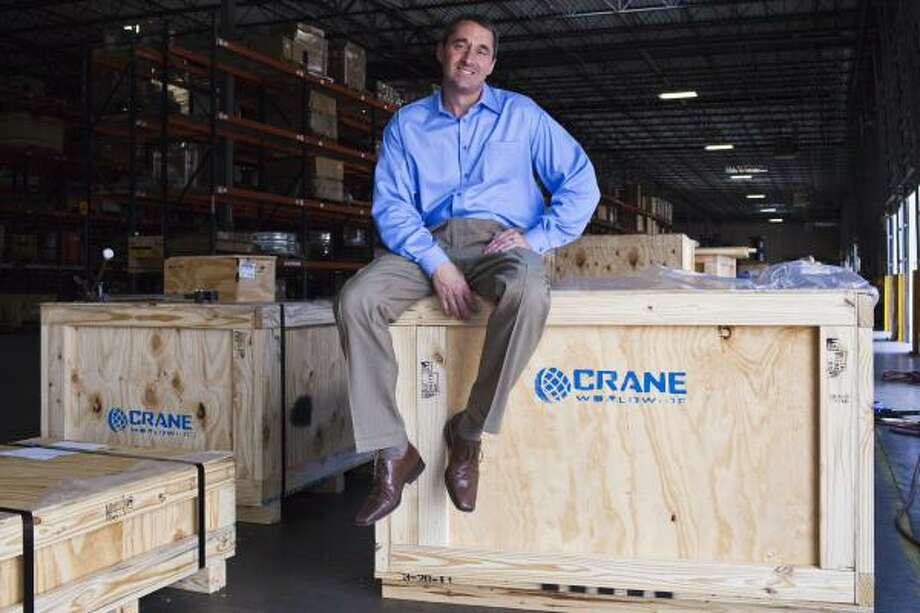 "Crane Worldwide Logistics' John Magee says: ""I don't subscribe to bigger is better. Better is better, and the larger you get, the harder it is to be good at what you do."" Photo: Eric Kayne, For The Chronicle"