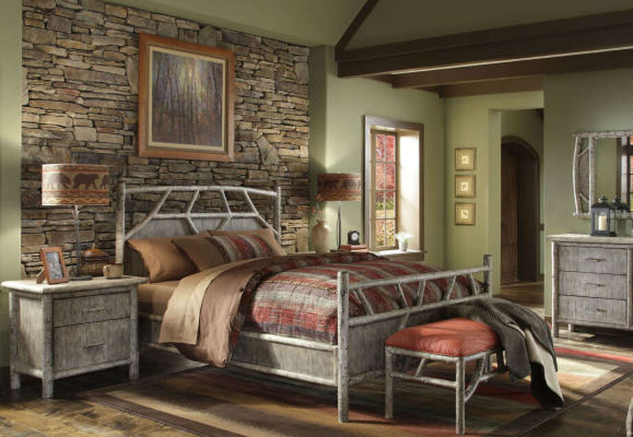 This room featuring Woolrich's new Birch Run collection would make guests comfortable with bedside tables, sufficiently high reading lights and a bench to hold a suitcase or other belongings as well as a well-made bed with lots of pillows. Photo: Woolrich