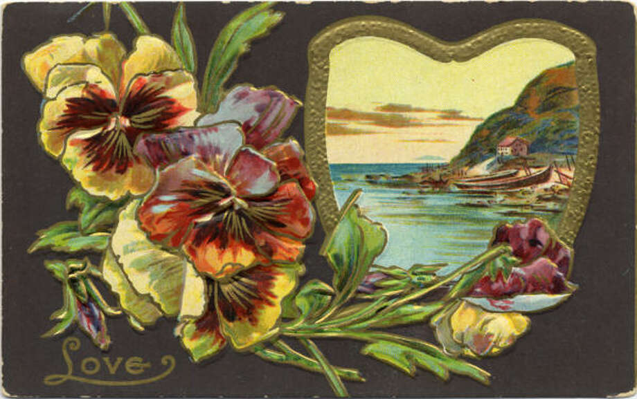 Turn-of-the-century postcards from David Lackey's  collection.