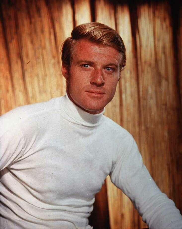 "Robert Redford. Redford auditioned for the part of the aimless but lovesick twenty-something after winning kudos for ""Barefoot in the Park."" / AP1965"