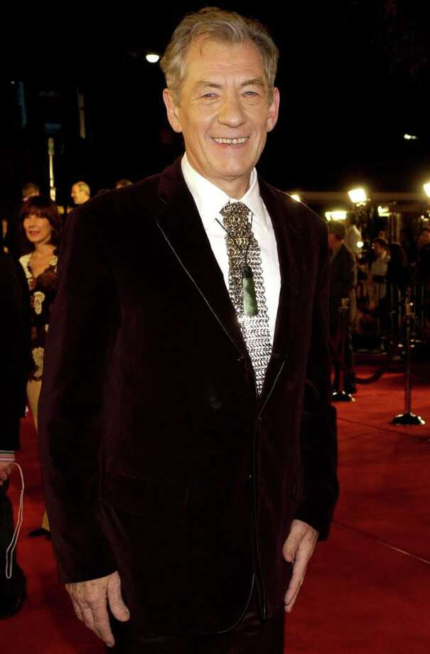 "Sir Ian Mckellen was happy to take the role of Gandalf in the epic trilogy ""The Lord of the Rings."" ""The other actors they asked to play Gandalf wouldn't go to New Zealand on that money for that length of time. I thought it would be a bit of an adventure,"" McKellen said in a 2006 Guardian interview. Also considered for the part of Gandalf was... / AP2003"