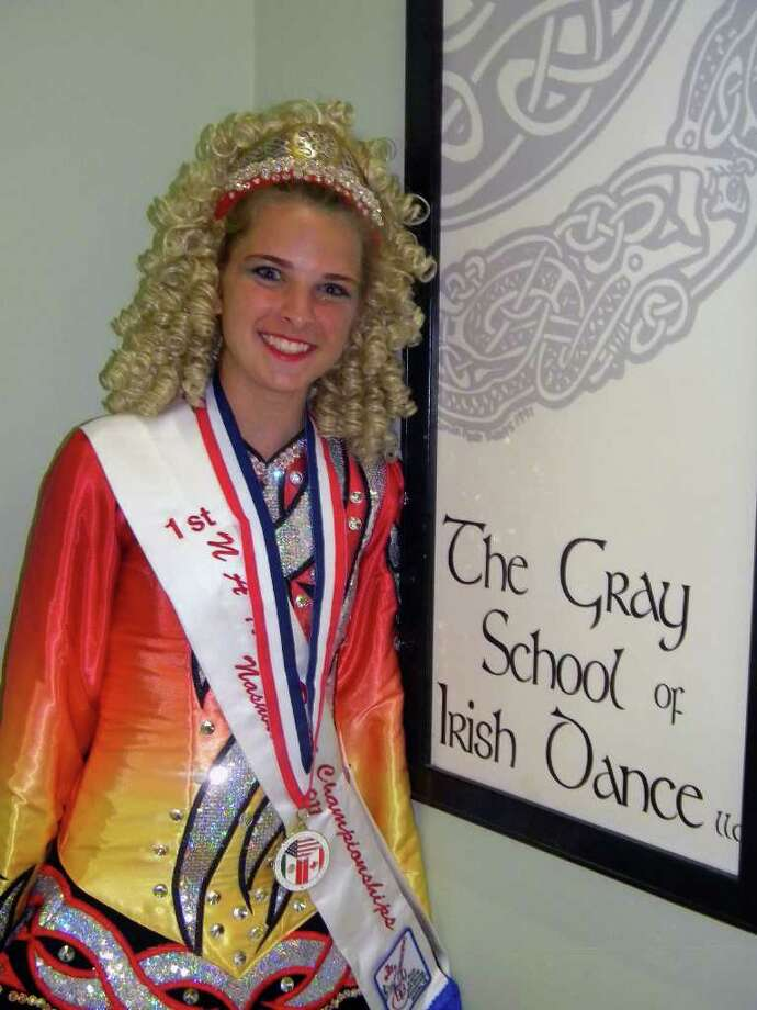 Dancers from the Gray School of Irish Dance will perform reels, jigs and more at 4:45 Monday, March 17, at the Danbury Library. Click here for more info. Photo: Contributed Photo