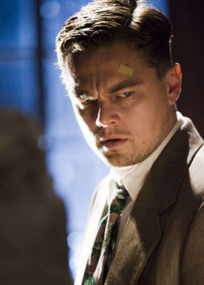 U.S. Marshal Teddy Daniels (Leonardo DiCaprio) is a detective sent to investigate a mysterious disappearance at an island prison for the criminally insane in Martin Scorsese's Shutter Island. Photo: Andrew Cooper
