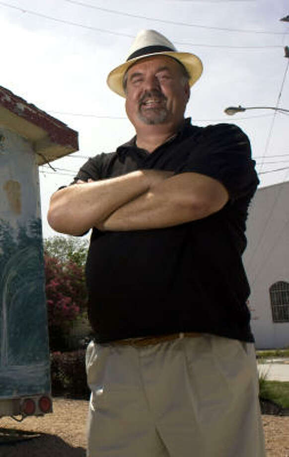 "Robb Walsh is author of ""The Tex-Mex Grill and Backyard Barbacoa Cookbook."" Photo: Johnny Hanson, Chronicle"
