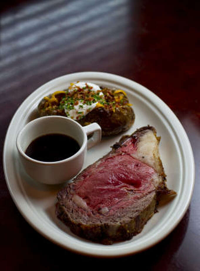 The prime rib can be ordered by itself or in taco or quesadilla form. Photo: Karen Warren :, Chronicle