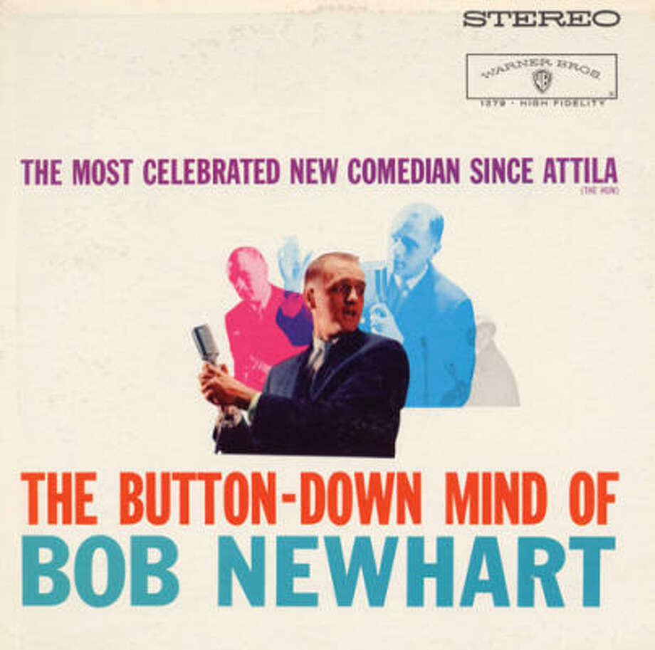 Bob Newhart says his album's existence is a bit of a fluke. Photo: Warner Bros.