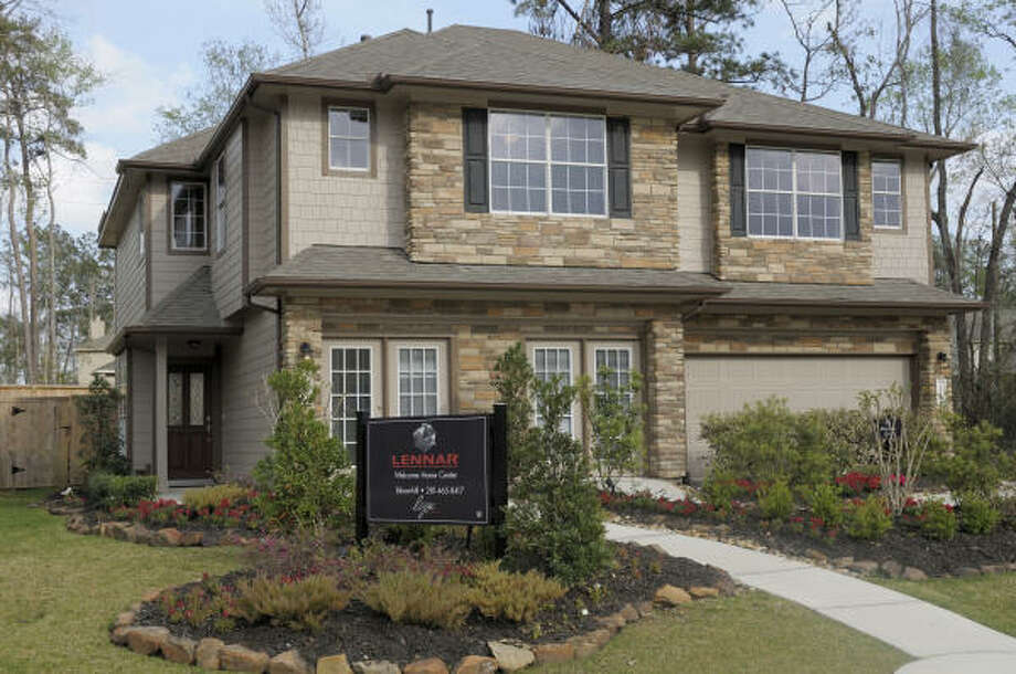 townhome collection: Lennar is offering its Stone Twin Villas collection of townhomes, priced from the $150,000s, at Bloomhill in May Valley, the new 400-acre area in The Woodlands' Village of Sterling Ridge.