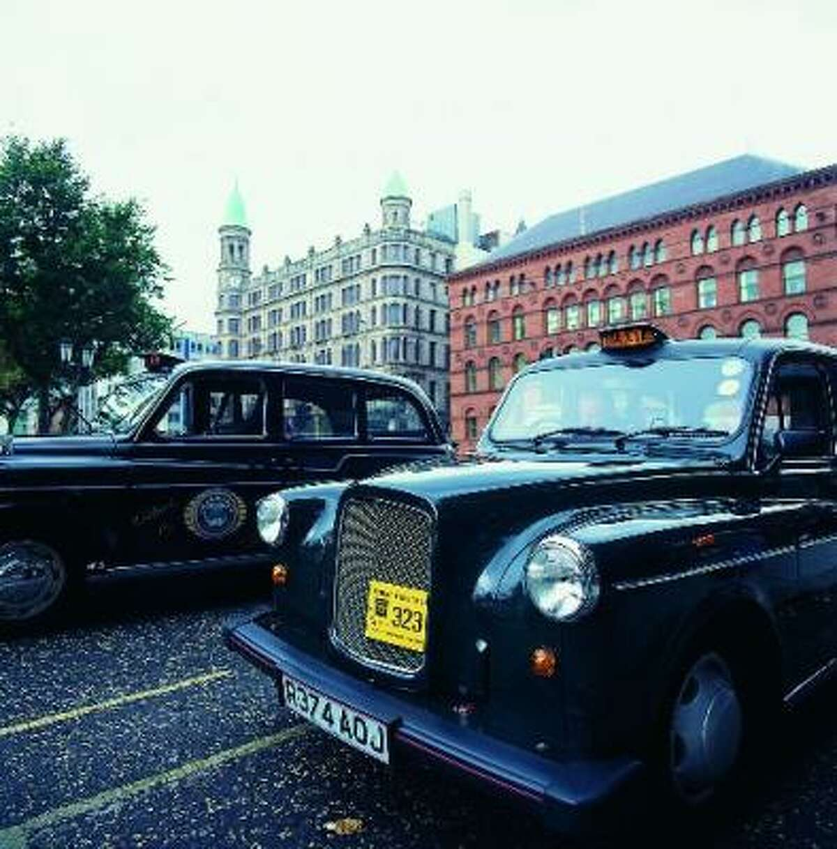 The Black Taxis of Belfast, now mostly devoted to tourism, grew out of a serious local need. During the height of The Troubles, safe passage had to be arranged via taxi, and the taxi drivers themselves could only operate within, never across, each neighborhood's boundaries.