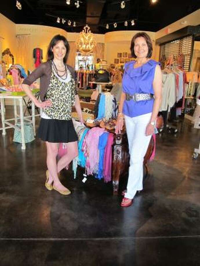 Lindsay Mousoudakis, left, and her mother, Margaret Morris, opened Muse in 2006. Photo: MUSE