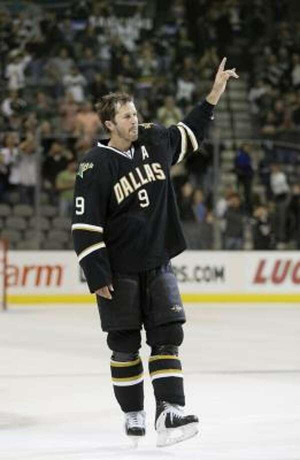 Mike Modano  is the top leading scorer among U.S.-born players in NHL history. Photo: Tony Gutierrez, AP