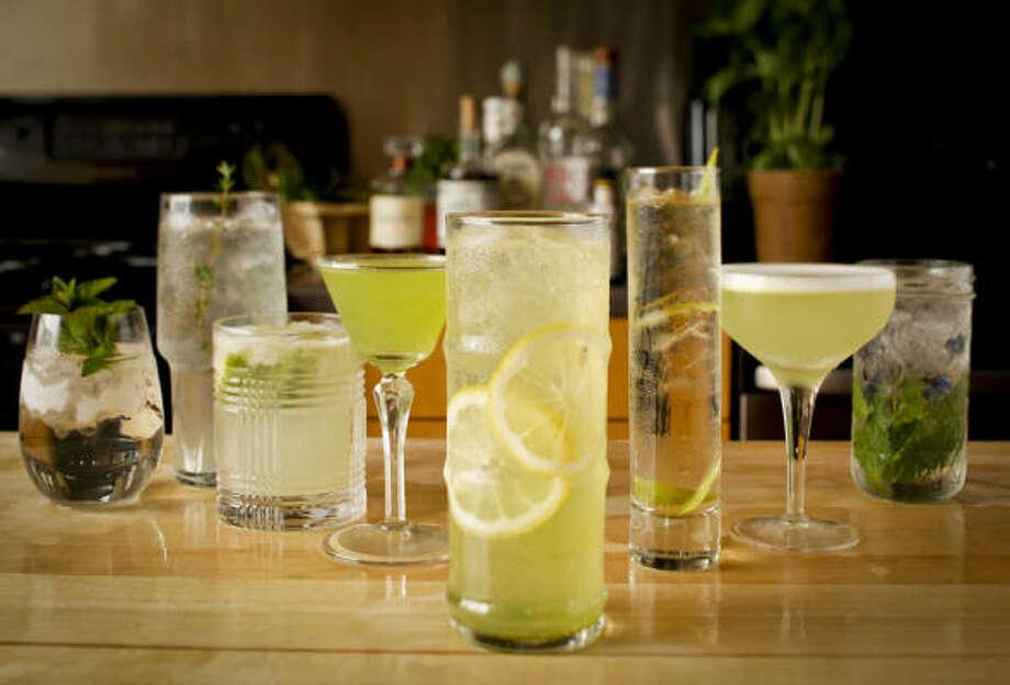 Fragrant herbs can transform an ordinary drink. Photo: RUSSELL YIP PHOTOS :, SAN FRANCISCO CHRONICLE