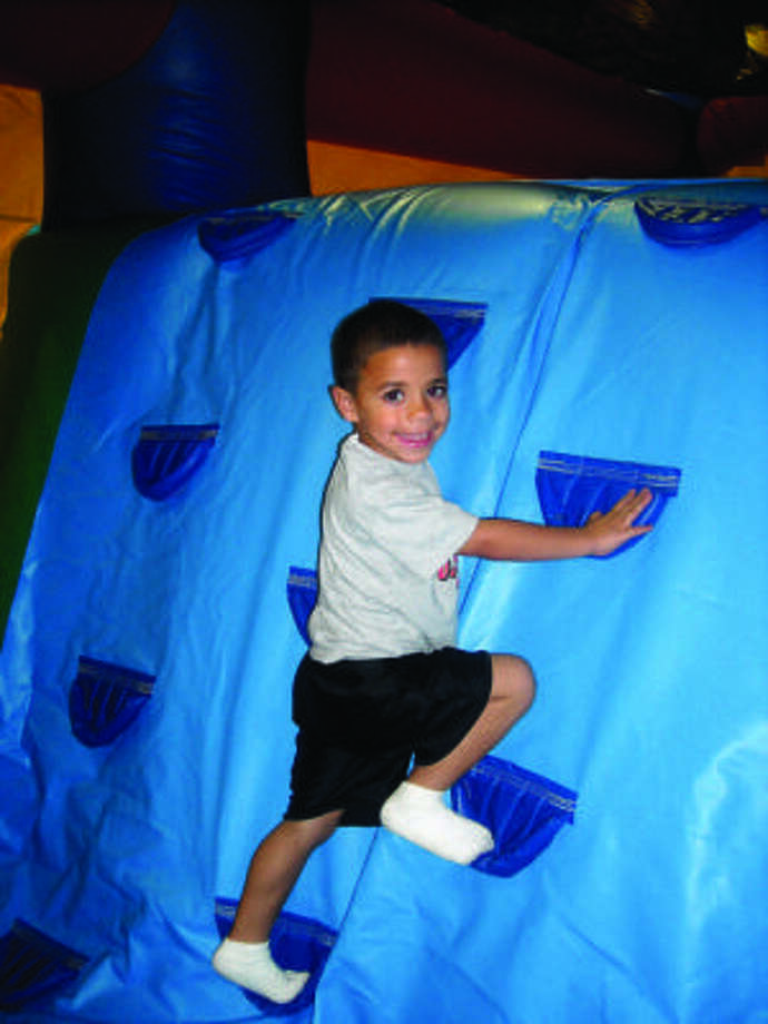 Jaelend Camper's photo of his younger brother, Jullian, earned a spot in the H-E-B-Health and Welllness Calender. The photography contest featured more than 200 photos which were submitted. Photo: Jaelend Camper, Courtesy Photo